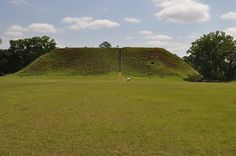 Temple Mound. Kolomoki Mounds State Park, Blakely, Early County, GA.