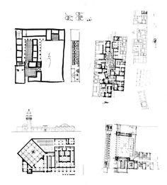 Mosque-hammam compound: sketches | Archnet