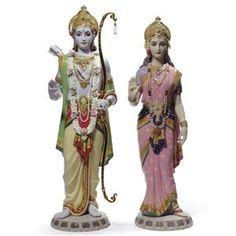 Lladro Hindu Rama & Sita 01001963
