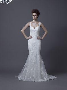 Igen Szalon Enzoani wedding dress - Hanako #igenszalon #weddingdress #enzoani