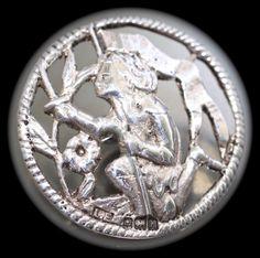 Silver bouton - m