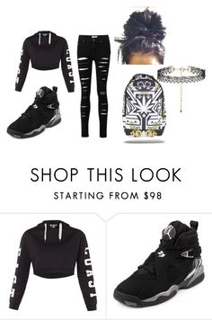 """Back To School Swag"" by miss-belle2304 on Polyvore featuring Topshop, NIKE and school"