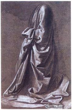 folds & drapery Drawing Clothes, Da Vinci Drawings, Art Drawings, Amazing Drawings, Drawing Sketches, Pencil Drawings, Leonardo Da Vinci, Drawing Techniques, Art Sketchbook