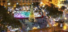 La Navidad en Valencia, Plaza del Ayuntamiento
