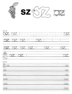 Albumarchívum Handwriting Worksheets, Alphabet Worksheets, Home Learning, Grammar, Sheet Music, Classroom, Teacher, Math Equations, Album