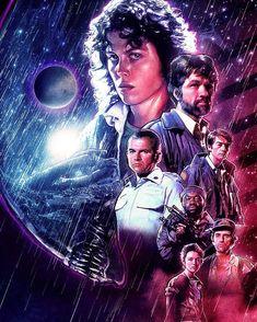 Alien by Blake Armstrong @spaceboycomics