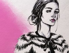 """Check out new work on my @Behance portfolio: """"Fashion sketch №3"""" http://be.net/gallery/43671967/Fashion-sketch-3"""