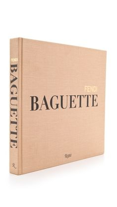 In 1997 the Fendi Baguette instantly became one of the most popular and important accessories of the decade. Fendi, You Make Me Happy, Coffee Table Books, Reading Material, Fashion Books, Pretty Little Liars, Reading Lists, Baguette, Book Lovers
