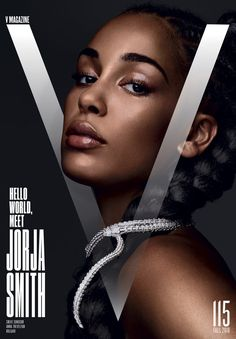 Jorja Smith is styled by Anna Trevelyan in images by Solve Sundsbo for V Magazine Fall Hair by Syd Hayes; makeup by Lisa Eldridge V Magazine 115 introduces us to Jorja Smith with this intro: Listening to Jorja Smith's stunner of a debut album, Lost & Fo V Magazine, Black Magazine, Magazine Covers, Media Magazine, Marie Claire, Cosmopolitan, Vanity Fair, Art Magazin, Lady In My Life