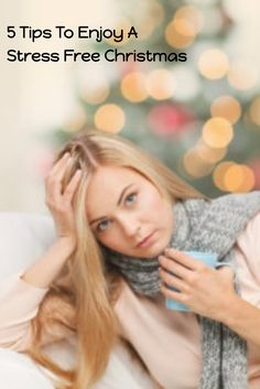 Having a stress free Christmas can be a challenge with the expectations of social events, gift shopping and entertaining guests. Here are 5 tips to help.