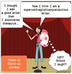 Standup comedy fail