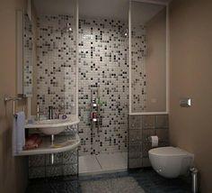 briques de verre, tuiles mosaiques murales, évier original, briques en verre