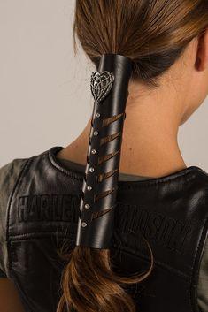 Tribal Hart Cut-out Stone Hair Glove Ponytail Wrap, Sleek Ponytail, Braided Ponytail, Braided Hairstyles, Hippie Braids, Gem Hair, Four Strand Braids, Dutch Fishtail Braid, Hair Tuck