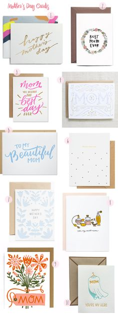 2016 Mother's Day Card Round Up, Part 1 / Oh So Beautiful Paper