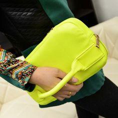 Fashion Party Zipper PU Clutches Bag