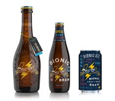 Tradition Meets the New World with Bionic Brew — The Dieline - Branding & Packaging Design