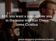 Cristina And Owen, Cristina Yang, Greys Anatomy Funny, Grey Anatomy Quotes, Greys Anatomy Characters, Dark And Twisty, Youre My Person, Meredith Grey, My Escape