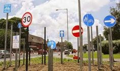 10 sinais de trânsito bastante estranhos, mas são usados em várias partes do mundo ~ Curiosidades