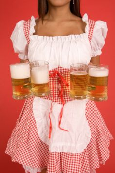 Oktoberfest party menu ideas.
