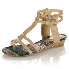 Ladies Flat Sandal - Dreams Footwear - Events