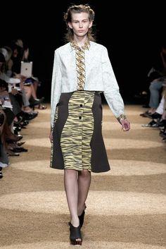 Proenza Schouler Spring 2012 Ready-to-Wear Fashion Show - Monika Sawicka