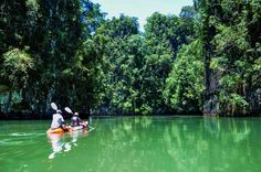 7_Krabi Thailand Sea Kayak Krabi Kajaktour Thalen Bay