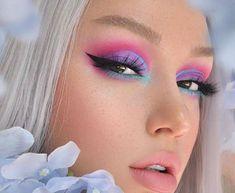 Unique Makeup, Creative Makeup Looks, Cute Makeup, Pretty Makeup, Simple Makeup, Eyebrow Makeup Tips, Makeup Eye Looks, Sfx Makeup, Eyeshadow Makeup