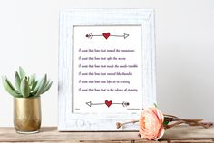 I Want That Love - Rumi Love Quote Inspirational Poster ~ Print & Display Today!