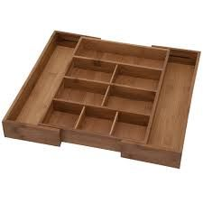 """Buy an expandable drawer organizer to help organize your """"junk""""drawer found for you by #mindoverclutter"""