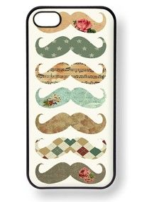 Pattern 'Staches Phone Case
