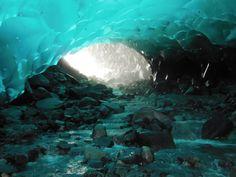 Mendenhall Glacier Ice Cave Juneau, Alaska
