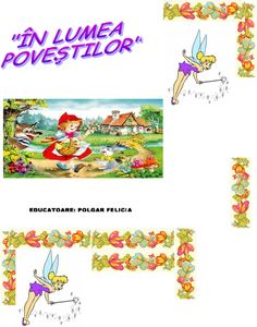 In lumea poveştilor, Scufita Rosie durata unei zile Felicia, Playing Cards, Playing Card Games, Game Cards, Playing Card