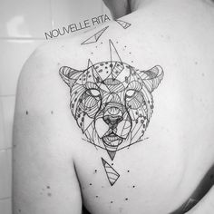#nouvellerita #cheetah #tattoo #tattrx #linework #blackworkers