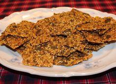 Mat och annat gott!: Inga-Lills Fröknäcke av majsmjöl Lchf, Mat, Chips, Gluten Free, Snacks, Healthy, Food, Glutenfree, Appetizers