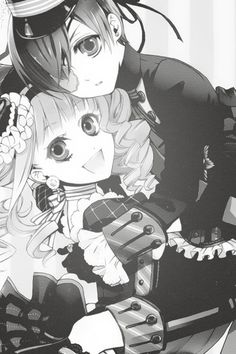 I know it's said that Ciel really can't stand Elizabeth but I still ship them. Lizzy is so bright and cheerful and if given the chance could brighten up Ciel's dark and hurt world.