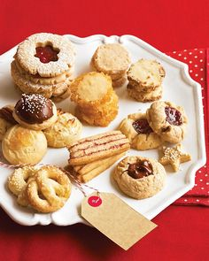 Icebox Cookies | Martha Stewart Recipes. A super-simple recipe allows you to make dough ahead of time, and then slice, decorate, and bake fresh cookies whenever guests drop by.