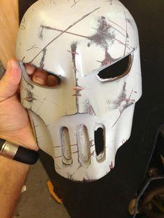 Teenage Mutant Ninja Turtles - Casey Jones Mask casting