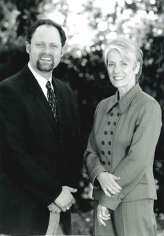Jonathan Moscone and Sharon Simpson in 2000. #calshakes40th
