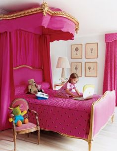Traditional Children's Room by Peter Cook via @Kimberly Gould Digest #designfile