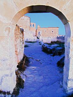 Ruinas de la Ermita de San Frutos. Hoces del Río Duratón