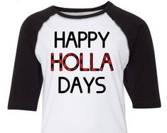 More colours Happy Holla Days shirt, Kids christmas shirt, Toddler christmas shirt, christmas t shirt, Buffalo plaid christmas, Holiday t shirts for kids  SimplySplendidStudio Toddler Christmas Dress, Christmas Shirts For Kids, Christmas Dresses, Plaid Christmas, Christmas Holiday, Buffalo Plaid, Toddlers, Colours, Happy