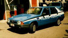 "Alfa 75 ""Polizia Polizei"" (near swiss border)"
