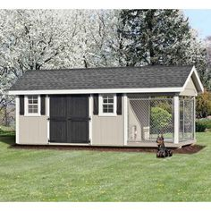Painted Light Gray with White Trim, Black Double Doors and Charcoal Shingles