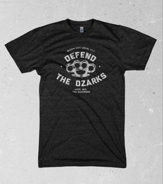 Defend the Ozarks T-shirt from The Basement