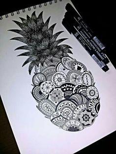 Tatuaje de piña 🍍🍍