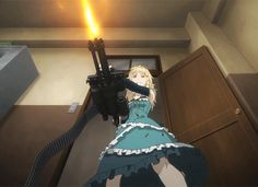 Another view of Tina from Black Bullet