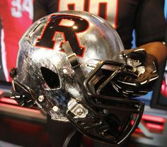 One of the new helmets Rutgers has rolled out for the 2012 football season!