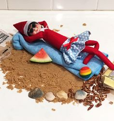 Bite Squad offers food staging ideas for your holiday elf doll