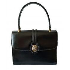 Borsa Gucci in pelle nera... Shoulder Bag, Shoulder Bags