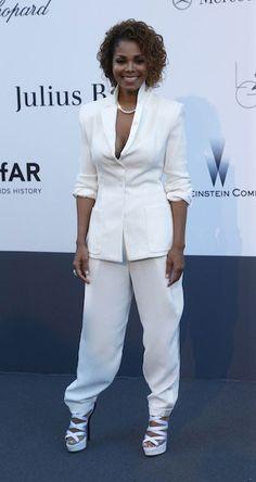 American singer, Janet Jackson during Cannes Film Festival 2013...